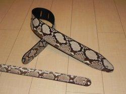 画像3: ランディー・ローズ使用タイプ パイソン本革ストラップ スタンダード 縫い合わせタイプ