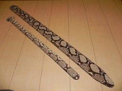 画像4: ランディー・ローズ使用タイプ パイソン本革ストラップ スタンダード 縫い合わせタイプ