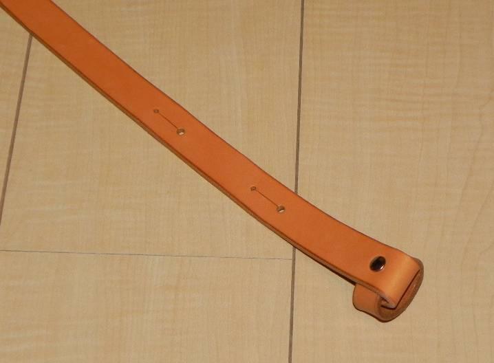 画像1: アコギ用システムストラップ フロント部(先端部)ループタイプ
