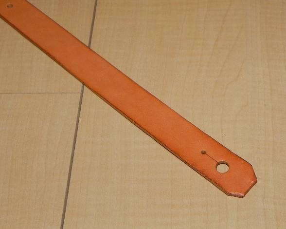 画像2: アコギ用システムストラップ リア部(後端部)通常ストラップピン(ノーマルタイプエンドピン)用タイプ