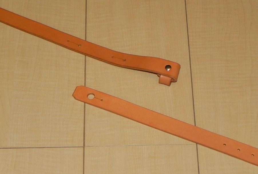 画像3: アコギ用システムストラップセットB(先端:ループタイプ 後端:エンドピンジャック用穴)