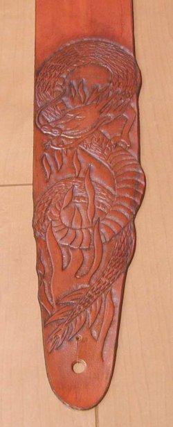 画像2: 龍の柄のストラップ