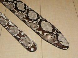 画像2: ランディー・ローズ使用タイプ パイソン本革ストラップ スタンダード 縫い合わせタイプ