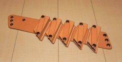 画像1: ブルースハープホルダー 肩掛けリングタイプ フレーム単品