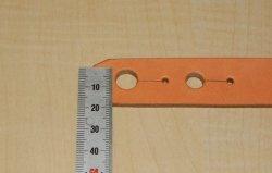 画像3: アコギ用システムストラップ リア部(後端部)ノーマルタイプエンドピン/エンドピンジャック両用タイプ