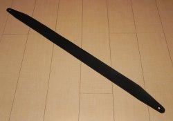 画像3: 長さ固定1枚革Basicカスタムストラップ  センターシフト端部仕様  ブラック色