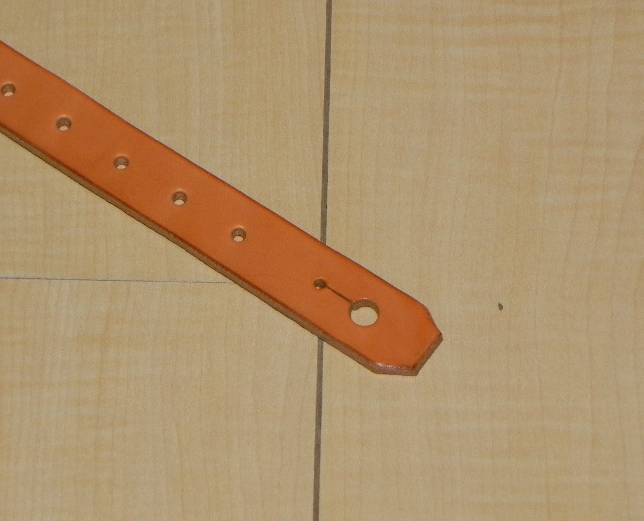 画像2: アコギ用システムストラップ フロント部(先端部)ストラップピン(ノーマルタイプエンドピン)タイプ