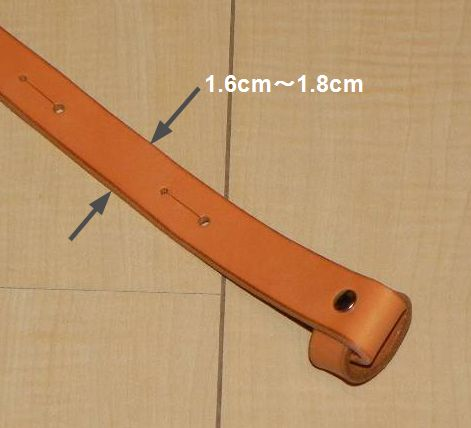 画像4: アコギ用システムストラップセットB(先端:ループタイプ 後端:エンドピンジャック用穴)