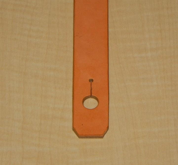 画像2: アコギ用システムストラップ リア部(後端部)エンドピンジャック用タイプ